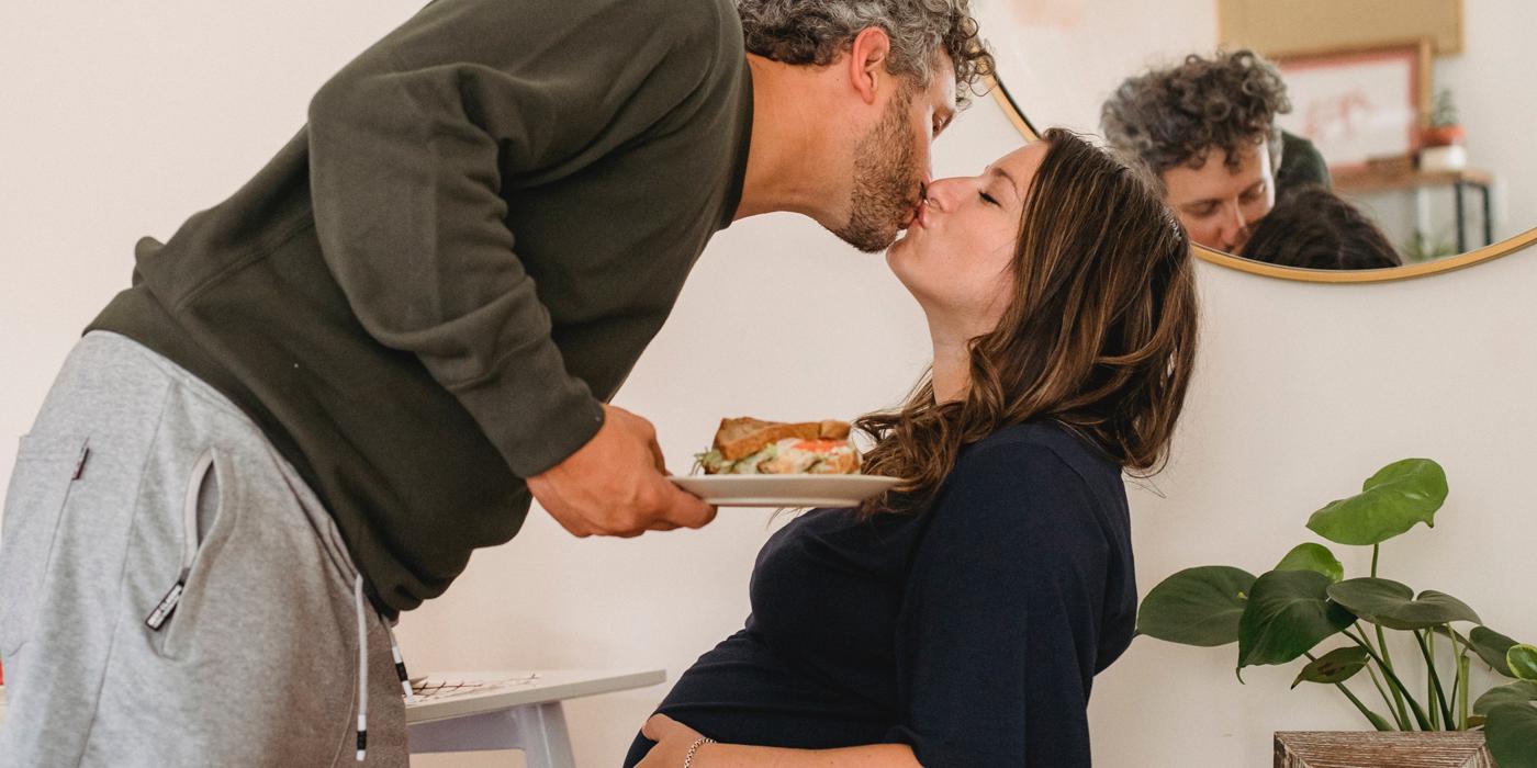 Síntomas del hombre en el embarazo de su mujer